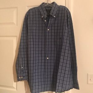 Men's bottom up shirt